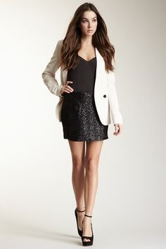 Anytime a blazer is paired with a LBD, I am in