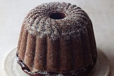 Mrs. Stein's Chocolate Cake  The only thing this rich chocolate pound cakes asks is to be served with freshly whipped cream.