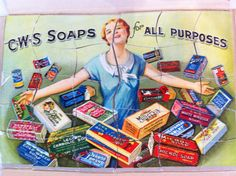 Early 20th Century advertising puzzle.