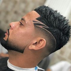 Fade Haircut Styles, Fade Styles, Beard Styles, Combover Hairstyles, Mens Medium Length Hairstyles, Greaser Hairstyle, Mullet Hairstyle, Haircut Medium, Hairstyle Short