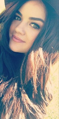 Lucy Hale. One of my top fave actresses!! So jealous of how thick her hair is!