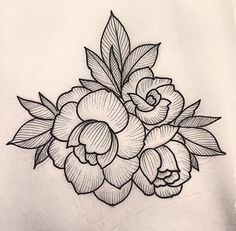 Sherlybird lines & dots illustrations tattoo designs, flower Flower Tattoo Designs, Tattoo Designs For Women, Henna Designs, Flower Tattoos, Tattoos For Women, Flower Power, Tatuagem Old School, Tattoo Flash Art, Cover Tattoo