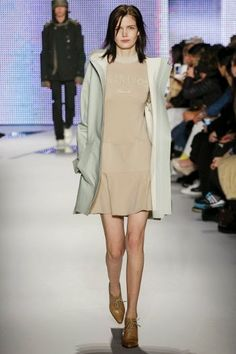 Lacoste womenswear Fall Winter 2014-2015 collection at New York Fashion Week http://modainpasserella.blogspot.com/2014/02/la-collezione-donna-ai-2014-2015-di.html