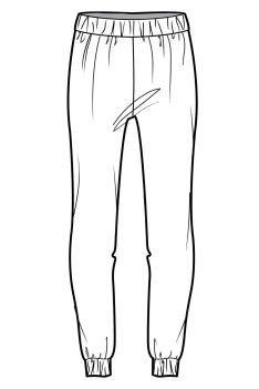 Wgsn Flat Sketches Sketch Coloring Page