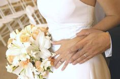 Photo about Wedding couple with rings and bouquet. Image of wedding, moment, special - 50930 Wedding Images, Wedding Designs, Wedding Music, Dream Wedding, Material For Sale, Wedding Couples, Wedding Shot, Wedding Rings, Special Day