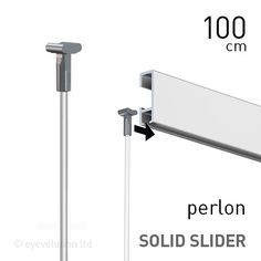 Artiteq Solid Slider 2mm Perlon 100cm to 300cm