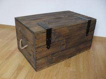 Kufer drewniany, skrzynia drewniana stolik kawowy