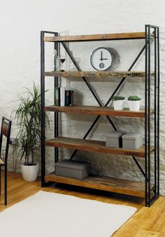 12 Awesome Industrial Furniture Transformation To Give Your Home Spaces A Trendy Touch industrial furniture rack design #homeindustrialdecor #industrialfurniture #industrialdecor