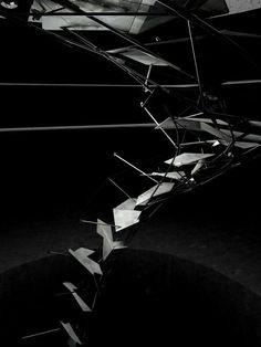 Serendipitous Serpentine Staircase, apk concepts. #architectural #model #concept
