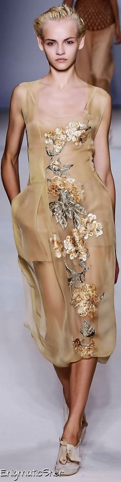 Alberta Ferretti Spring Summer 2010 Ready-To-Wear
