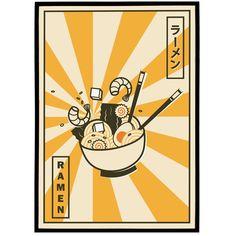 Japanese Ramen Poster
