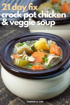 Crock Pot Chicken Slow Cooker Times, Slow Cooker Chicken, Best Slow Cooker, Slow Cooker Recipes, Crockpot Recipes, Cooking Recipes, Vegetable Soup With Chicken, Veggie Soup, Chicken And Vegetables