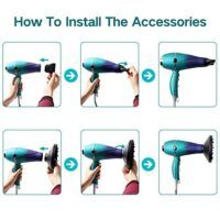 Salon Hair Dryer, Professional Hair Dryer, Different Hair Types, Fast Hairstyles, Fun Shots, Smooth Hair, Dry Hair, Salons, Diffuser