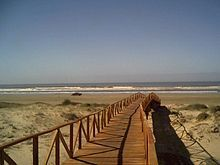 Praia do Cassino (lit. Casino Beach) is located adjacent to the city of Rio Grande, in the state of Rio Grande do Sul, Brazil. It is commonly known in Brazil as the longest beach in the world (approximately 254 km long