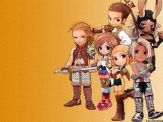Chibi Vaan Penelo Ashe Basch Fran Balthier Photo by KahthrGirl20 | Photobucket