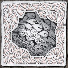 Zentangle: Four For #28