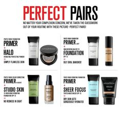 Smashbox Primer & what it perfectly goes with!