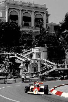 Prost/McLaren Grand Prix de Monaco 1987
