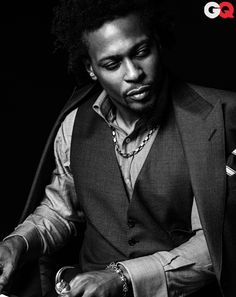 I appreciate his artistry, really, I do...but c'mon D, if you got it, you got it. This man is fine as all outdoors.      D'Angelo GQ Photos - June 2012: Music: GQ