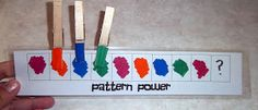 Toddler Boredom Busters: Pattern Power (2)