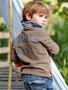 Polo de mangas compridas, para menino  #polo Polo, Fashion, Full Sleeves, Little Girls, Spring, Preschool, Spring Summer, Long Dress Patterns, Searching