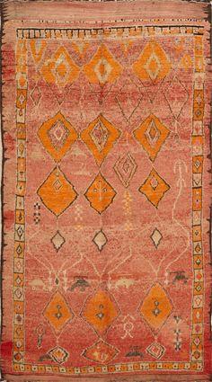Matt Camron Rugs & Tapestries - Moroccans - Moroccan Rug - 19276HM