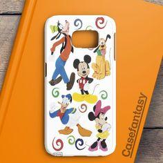 Disney Collage Art Samsung Galaxy S6 Edge Case | casefantasy