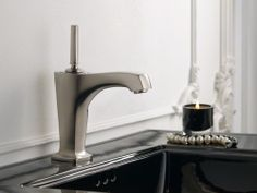 Margaux® Single-hole bathroom sink faucet with spout and lever handle
