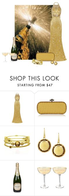"""""""Rolling In The New Year"""" by cris-1121 ❤ liked on Polyvore featuring Alexander McQueen, Bottega Veneta, Pink Mascara, Roberto Coin, Perrier-JouÃ«t and Cathy's Concepts"""