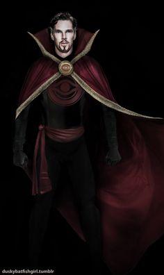 New doctor stanrge costume Marvel Films, Marvel Heroes, Marvel Dc, Marvel Comics, Comic Book Characters, Comic Character, Mr Doctor, Doctor Strange Benedict Cumberbatch, Cloak Of Levitation