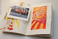 Travel book, Paris 2010 by conjure_real, via Flickr