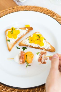 Beet and Goat Cheese Toasts