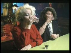 Theresa and Elaine in a party mood in Letter to Brezhnev I Remember When, Film Stills, Pretty People, Good Times, All About Time, Movies, Films, In This Moment, Mood