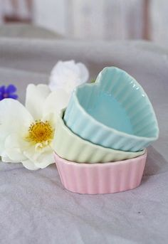 Sweet little heart dishes