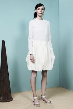 white dress - araks - spring 2013 rtw #nyfw