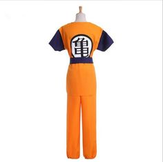 Free Shipping Two Style Dragon Ball Z Son Goku Cosplay Costume Unisex Halloween Party Cosplay Costume Suits CS01665