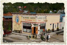 Dawson City Yukon, Canada.  I have been here but I would love to go back.  What an amazing place, amazing people.  It's like going back in time.