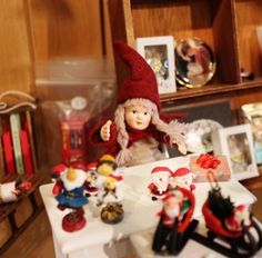 santas workshop dollhouse - Google Search