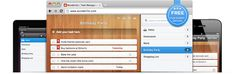 Wunderlist! Easy To Use Task Manager on Web, Mac, Windows, iPhone, iPad and Android. Cloud sync!