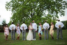 Jessica and Robert's wedding at Lenora's Legacy. Photo credit: Kelli C Photography.