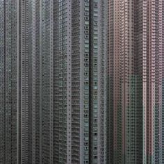 This is almost frightening....German-born photographer Michael Wolf documents the extreme densities of Hong Kong in his series 'Architecture of Density'
