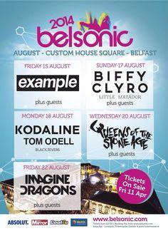 2014 August in Northern Ireland. BELSONIC