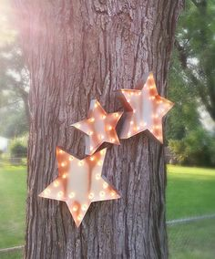 "Light Up 18"" Star Marquee Sign"