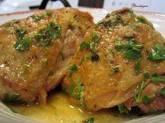 UMMA YORI: Chicken in Garlic Sauce (Pollo al Ajillo)