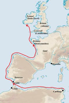 Himilco, a Carthaginian navigator and explorer, lived during the height of Carthaginian power, the 5th century BC. Himilco is the first known explorer from the Mediterranean Sea to reach the northwestern shores of Europe.