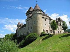 The Château de Cléron Castle 25 km south of Besançon in the Doubs département of France - http://www.inblogg.com/the-chateau-de-cleron-castle-25-km-south-of-besancon-in-the-doubs-departement-of-france/