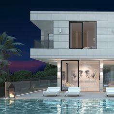 #sotogrande #arquitectura #architecture #architecturephotography #architecturelovers #almendralycancio #viviendadelujo #piscina #solarium #nature #geometria #arquitecturamoderna #sotograndedochills