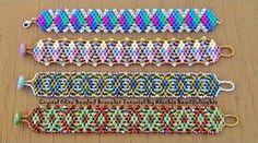 Snazzy Beaded Bracelet or Anklet Tutorial - YouTube