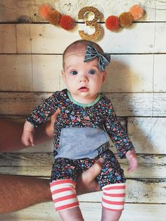 Baker Bree | 3 Months update // monthly baby tracker // monthly update
