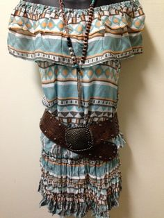 Cowgirl Dress Up! Belt Rancho Estancia-Necklace Gypsy Soule  www.thefunkycowgirl.com